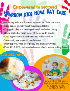Sparrow Kids Home Daycare (East York location)