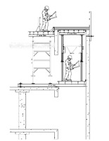 Construction Drawings - Formwork - Shoring - Falsework - Tempora
