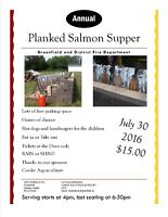Annual Planked Salmon Supper