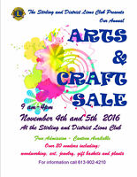 Stirling Lion's Arts and Craft Show