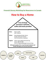 Financial Literacy Workshop - How to Buy a Home