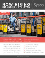 Industrial Athlete - Order Selector