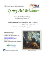 North Bay Art Association's Spring Exhibition Opening Reception
