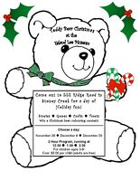 Teddy Bear Kids Christmas Program at the Erland Lee Museum!