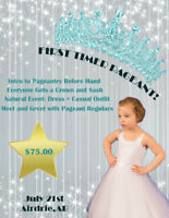 First Timers Pageant
