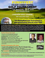 FunnyFest Golf Tournament & Show - Lakeview Golf Course Calgary