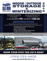 WINTERIZING, SHRINK & STORAGE FOR YOUR BOAT (Mercury, Volvo &..