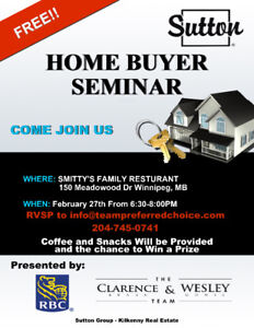 Get Educated about Buying a home.