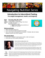 Introduction to Intermittent Fasting