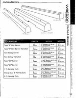 Concrete Curbs & Barriers for Parking lots & Ab. Trans Approved