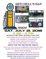 7th Annual Mitchell's Bay Antique Car-Truck-Bike & Tractor