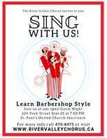 Learn to Sign Barbershop Music!