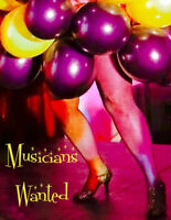 Female musicians wanted for burlesque,  busking & theatre gigs