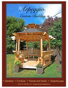 Custom Hexagonal Gazebo/Pagoda