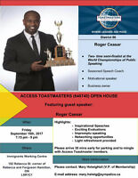 Access Toastmasters Open House