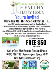 Super Healthy Happy Hour FREE Event You're Invited