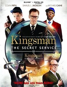 Blu-ray - Kingsman-The Secret Service  - New and Unopened