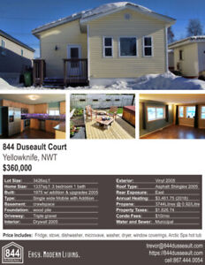 Yellowknife House for Sale - 844 Dusseault Court