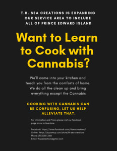 Crash Course on Cooking with Cannabis Nov. 26th
