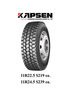 Semi Tires - Brand New - $219