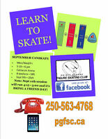 Learn to Skate !!! September Registration Now Open !!!