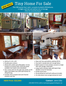 Cabin/Tiny Home for sale (NEW PRICE)