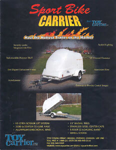 Motorcycle Carrier trailer by ToyCarrier