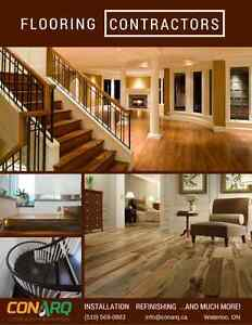 Looking for a Flooring/Stairs Professional? call us 519-569-0883 Stratford Kitchener Area image 1