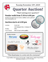 Quarter Auction Fundraiser for Project READ Literacy Network