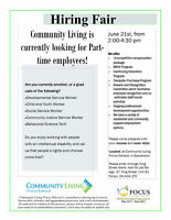 Hiring Fair: Residential Support Workers