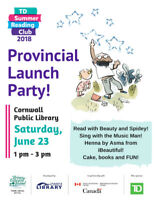 Provincial TD Summer Reading Kick-off Party