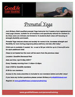 Pre registared prenatal classes with childcare