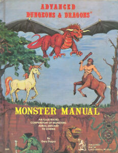 Dungeon & Dragons Monster Manual (1978)