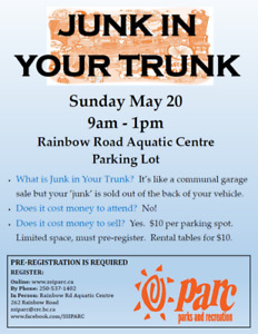 Junk In Your Truck Community Garage Sale