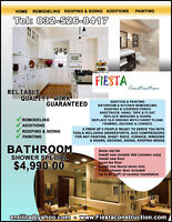 ►BATHROOM,KITCHEN,ADDITIONS,PAINTING,ROOFING,ADDITION