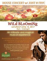 WILD BLOOMING - House Concert with Jont!