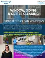 FREE WINDOW/SIDING/EAVESTROUGH CLEANING ESTIMATE