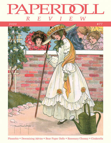 Paperdoll Review Magazine Issue #77, 2020 -Pinocchio-Downsizing-Cinderella-Bears
