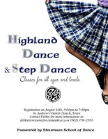 Highland Dance and Step Dance classes