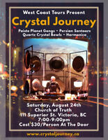 Crystal Journey Concert In Victoria, BC