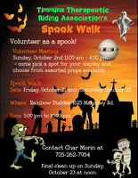 Spook Walk Volunteer Meeting