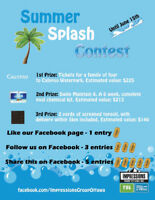 Win Calypso Waterpark Tickets for Four! Free to enter!