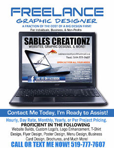 FREELANCE GRAPHIC DESIGNER   REASONABLE PRICES FOR EVERY BUDGET London Ontario image 1