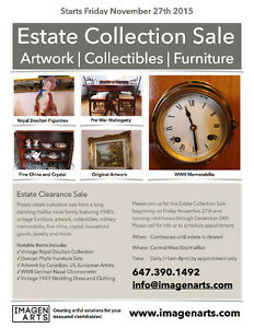 *** ESTATE COLLECTION CLEARANCE SALE ***