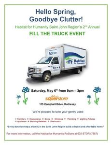 Habitat for Humanity's 2nd Annual Fill the Truck Event