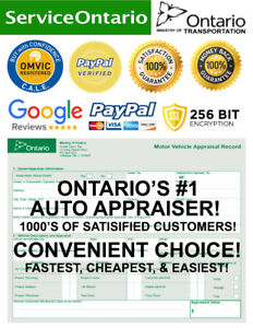 INSTANT CAR APPRAISAL (ONLINE/IN-PERSON) SAVE $100'S ON HST TAX