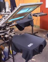 Experience person for Screenprinting on textile