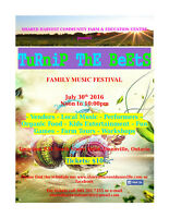Turnip the Beets Family Music Festival - July 30th Dunnville