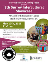 Intercultural Showcase at Guildford Rec Centre May 12