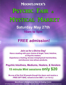 Moonflower's Psychic Fair and Mystical Market
